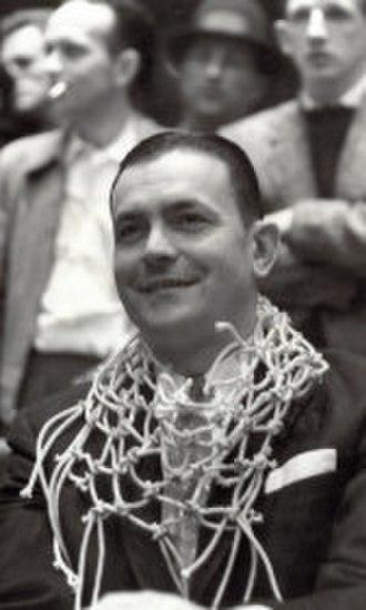 Bud Millikan - Millikan after the 1958 ACC Tournament championship