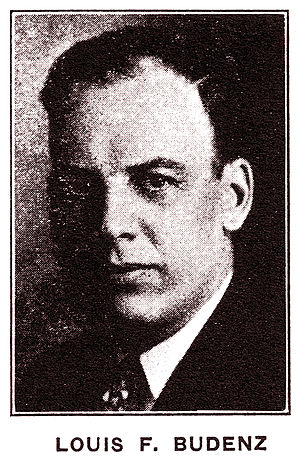 Conference for Progressive Labor Action - Louis F. Budenz, one of two Executive Secretaries of the CPLA from the time of the group's formation in 1929.