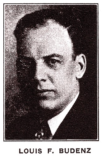 Louis F. Budenz - Louis Budenz in 1929, as an Executive Secretary of the Conference for Progressive Labor Action.
