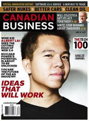 Canadian Business - 18 June 2007 cover of Canadian Business