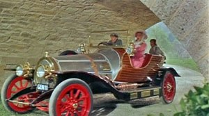 Chitty Chitty Bang Bang - The main cast after landing in Vulgaria.
