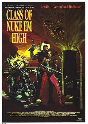 Class of Nuke 'Em High - Theatrical release poster