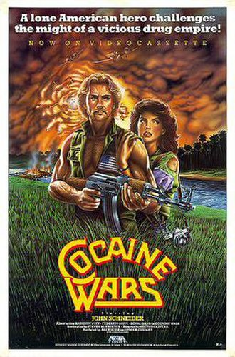 Cocaine Wars - Theatrical release poster