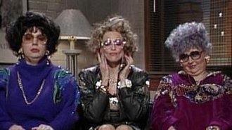Coffee Talk - Mike Myers, Madonna and Roseanne Barr as their characters