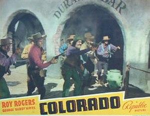 Colorado (film) - Image: Colorado 40
