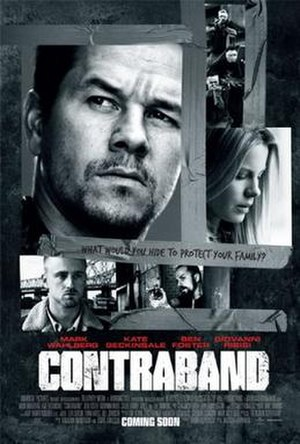 Contraband (2012 film) - Theatrical release poster