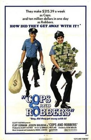 Cops and Robbers (1973 film) - Promotional movie poster for the film