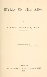 <i>Idylls of the King</i> Cycle of twelve narrative poems by Alfred, Lord Tennyson