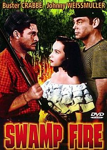 DVD cover of the movie Swamp Fire.jpg