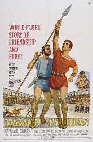 Damon and Pythias (film) - Image: Damon and Pythias Film Poster