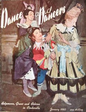 Dance and Dancers - Jan 1950. The first issue.