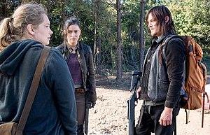 Twice as Far - Image: Denise, Rosita and Daryl