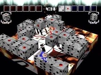 Devil Dice - Screenshot of gameplay.