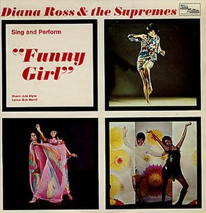 """Diana Ross & the Supremes Sing and Perform """"Funny Girl"""" - Image: Diana Ross The Supremes Sing And Perform 351402"""