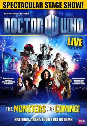 Doctor Who Live - Image: Doctor Who Live Poster 2010