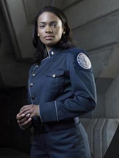 Anastasia Dualla character from the Battlestar Galactica television series