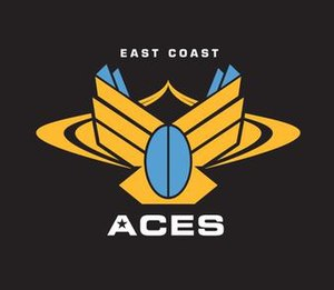 Queensland Country (NRC team) - Image: East Coast Aces logo