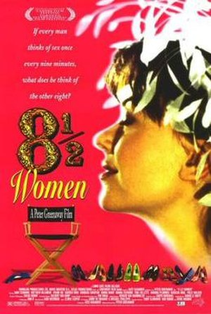 8½ Women - Theatrical release poster