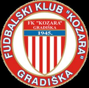 FK Kozara Gradiška - Image: FK Kozara Gradiška logo