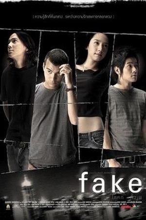 Fake (2003 film) - Thai theatrical poster
