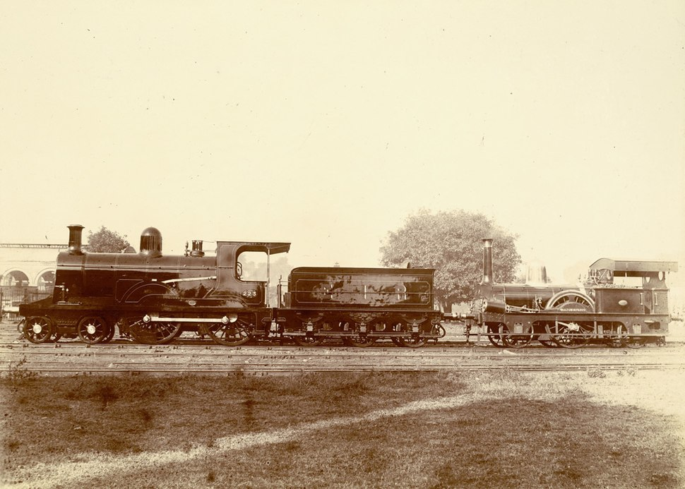 First locomotive india1854 photo1894