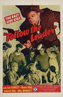 <i>Follow the Leader</i> (1944 film) 1944 film by William Beaudine