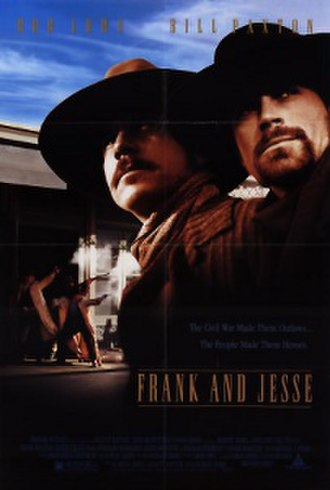 Frank and Jesse - Original Theatrical Poster