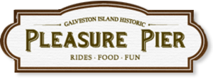 Galveston Island Historic Pleasure Pier - Image: Galeveston Pier Logo