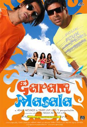 Garam Masala (2005 film) - Theatrical release poster