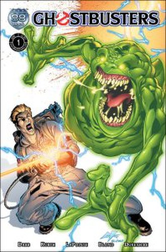 Ghostbusters: Legion - Cover to issue one of the unpublished ongoing series.