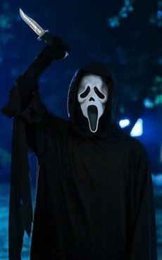 Ghostface (character) main antagonist of the Scream film series