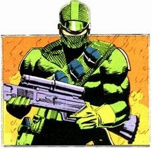 Firefly (G.I. Joe) - Firefly in his second costume from G.I. Joe: A Real American Hero.