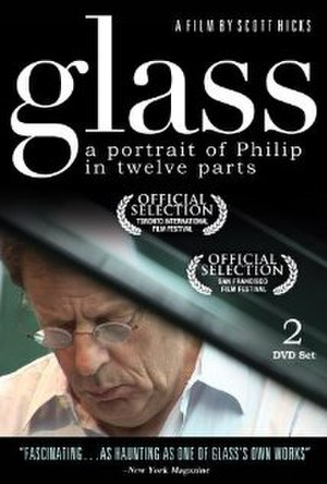 Glass: A Portrait of Philip in Twelve Parts - Theatrical release poster