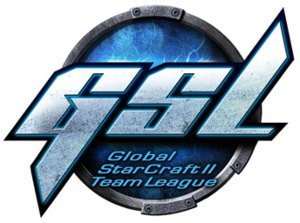 Global StarCraft II Team League - Image: Global Star Craft II Team League logo
