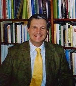 Nicholas Goodrick-Clarke - Goodrick-Clarke in his office