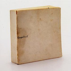 Grapefruit (book) - Grapefruit, First Edition, 1964