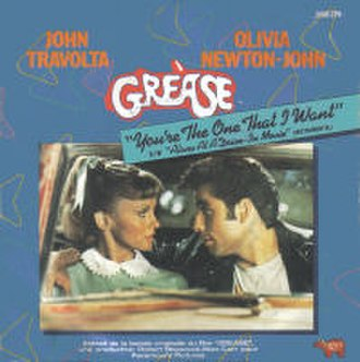 You're the One That I Want - Image: Grease Youre The One That I Want 7Inch Single Cover