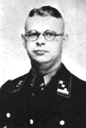 Stanisławów Ghetto - City commandant Hans Krueger, Gestapo