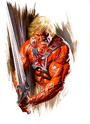 He-Man - Image: He Man (Alex Ross's art)