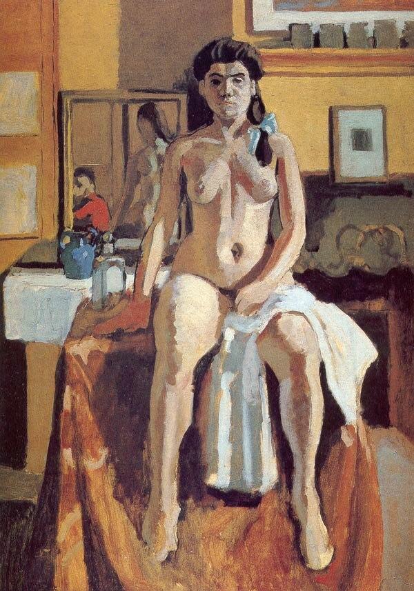 Henri Matisse, 1904, Nu (Carmelita), oil on canvas, 81.3 x 59 cm, Museum of Fine Arts, Boston