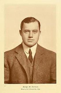 Herbert M. Harriman American golfer (1873-1933)