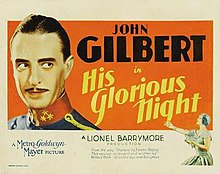 His Glorious Night advertisement.jpg