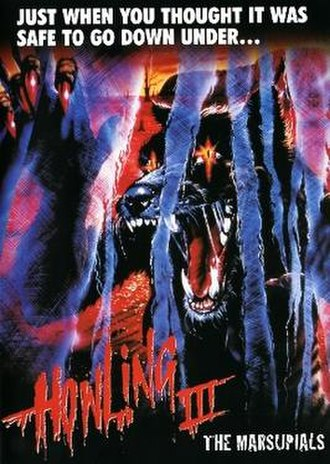 Howling III - Elite Entertainment DVD Artwork