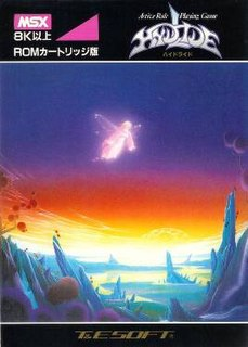 <i>Hydlide</i> 1986 video game