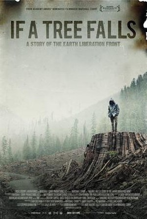 If a Tree Falls: A Story of the Earth Liberation Front - Promotional poster for If a Tree Falls