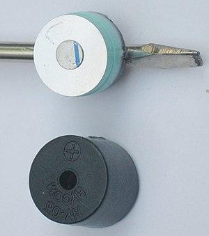 Moving iron speaker - Moving iron sounder
