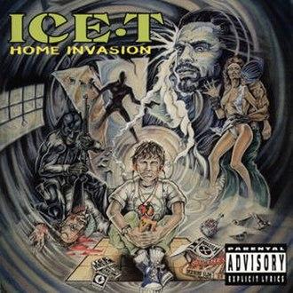 Home Invasion (album) - Image: Ice t homeinvasion