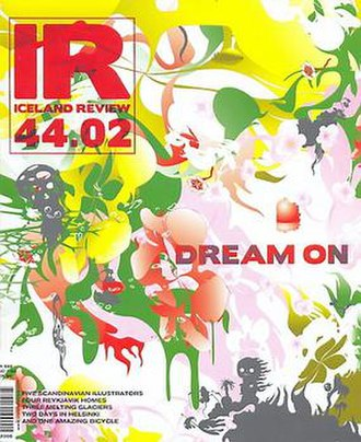 Iceland Review - 2006 cover for the Design Issue. Design by Katrín Ólína