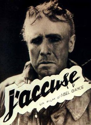 J'accuse (1919 film) - French theatrical release poster