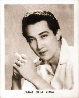 Jaime de la Rosa Filipino actor